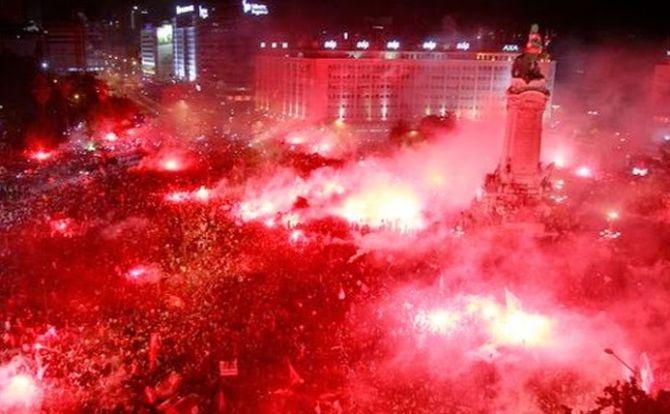 Benfica Adeptos Marquês