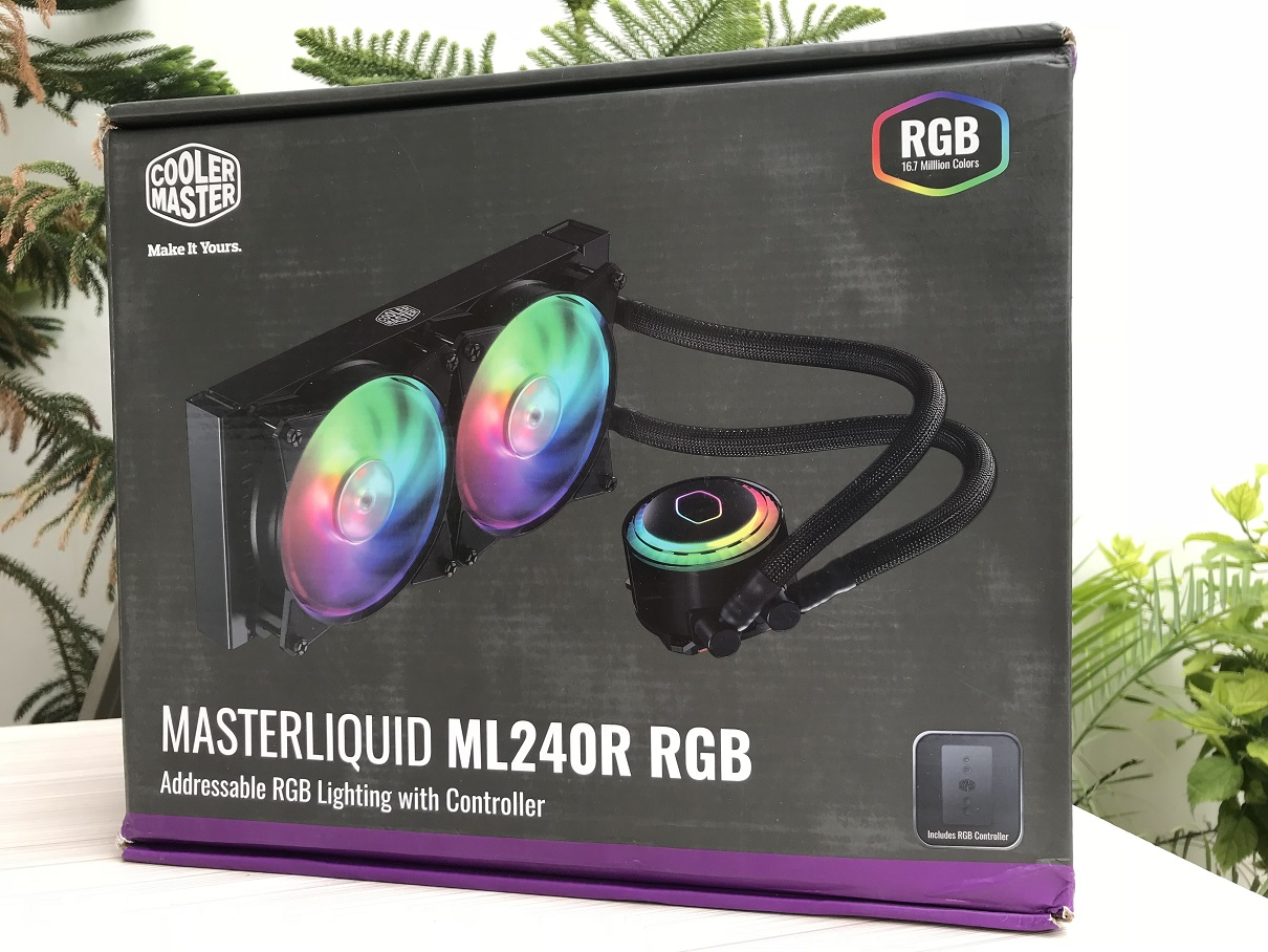 Cooler Master MasterLiquid ML240R RGB Review ~ Computers and More