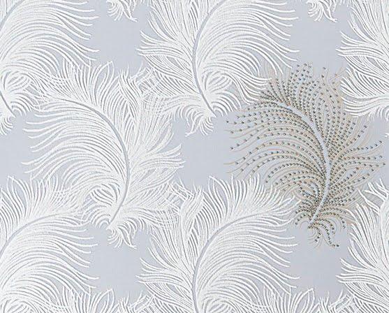 Feather wallpaper home decor