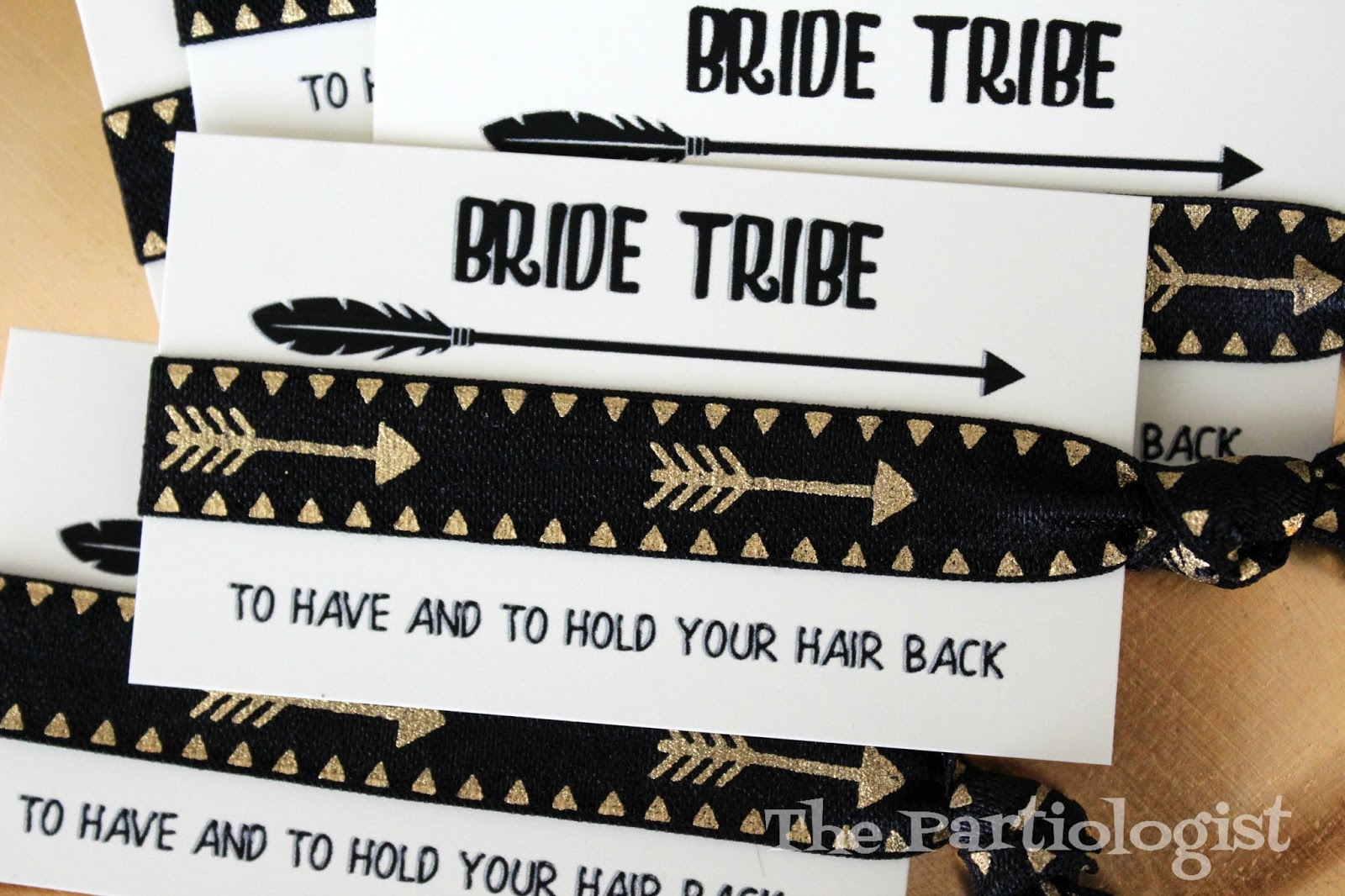 photograph about To Have and to Hold Your Hair Back Free Printable identified as The Partiologist: Bridal Bash Choose Residence Favors!