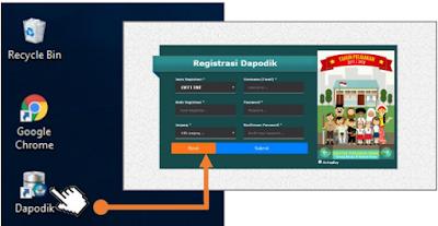 gambar Aplikasi dpaodikdasmen versi 2018