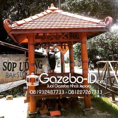 Gazebo 2x2 Jepara