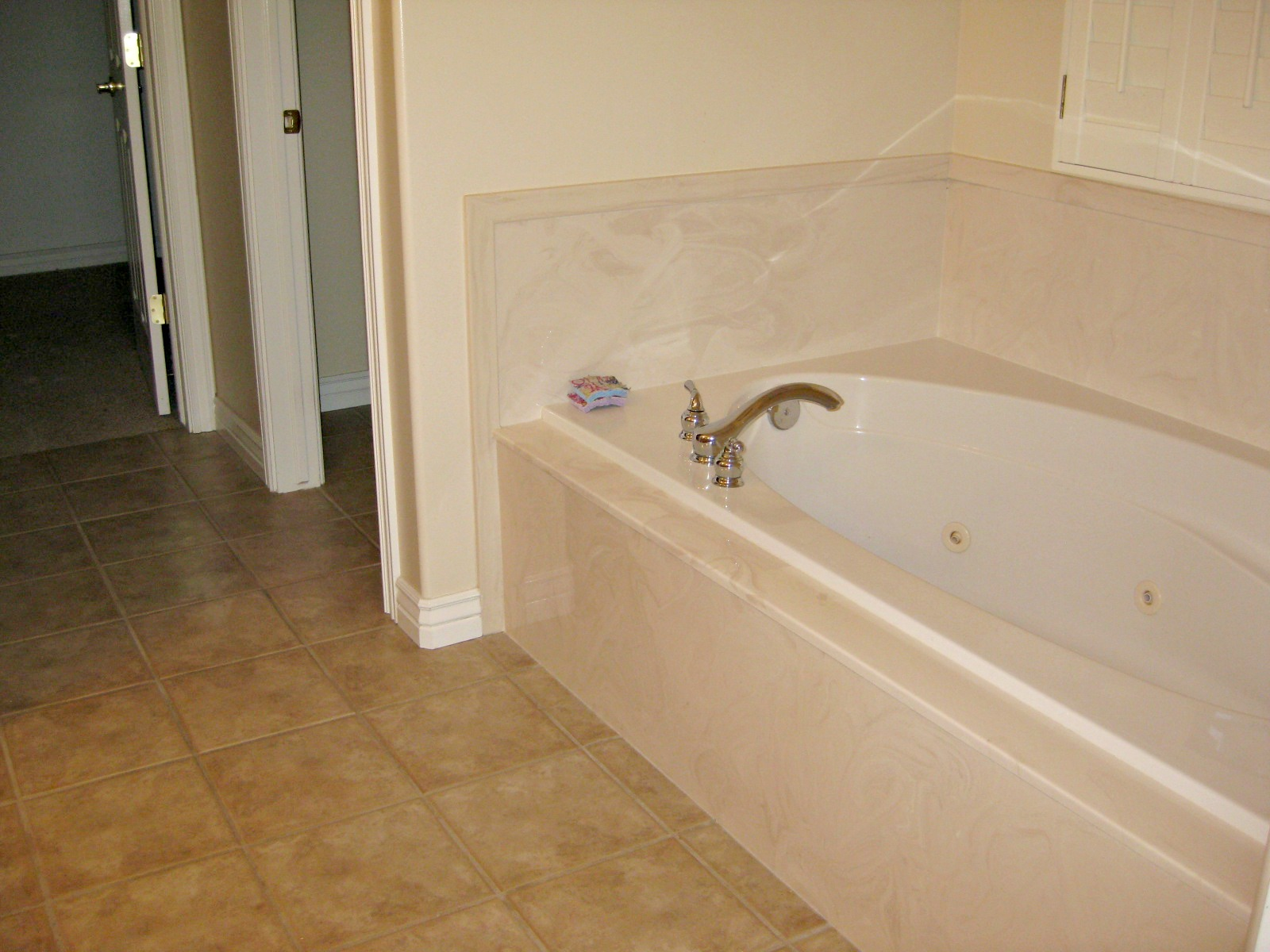 Tda decorating and design master bath renovation for Limestone bathtub