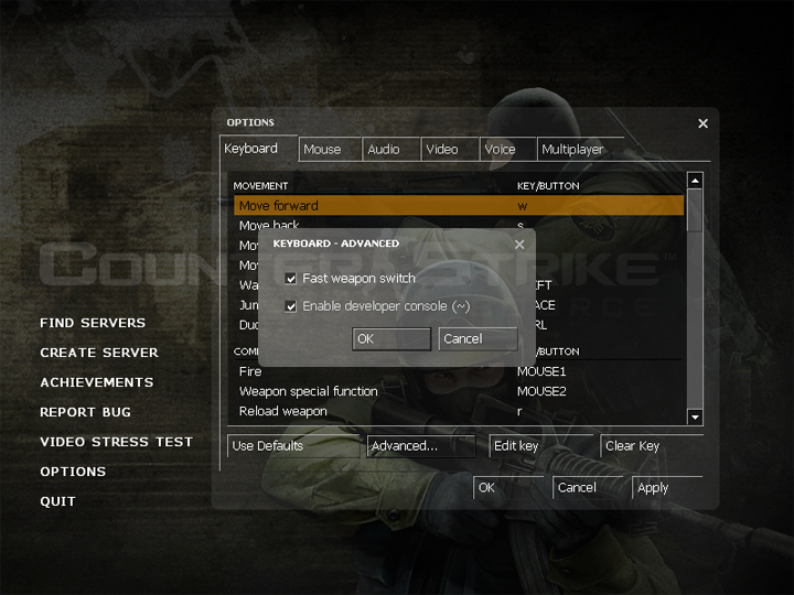 Counter-Strike: Source Tips and Tutorials: How to Enable The