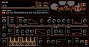 DSK SynthDrums - Plugin VST Free