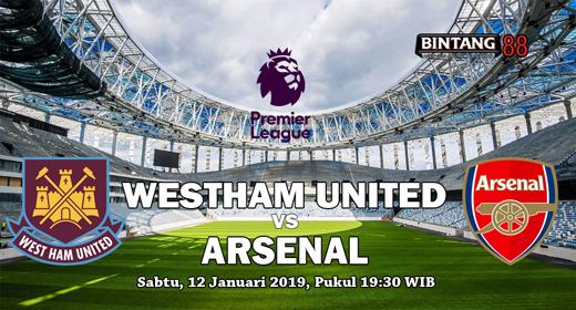 Pada 12 Januari mendatang akan diselenggarakan pertandingan Premier League pada pekan ke 22 antara West Ham United Vs Arsenal pada pukul 19:30 WIB di London Stadium (London).