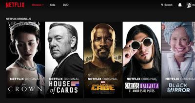 Series en serio Netflix