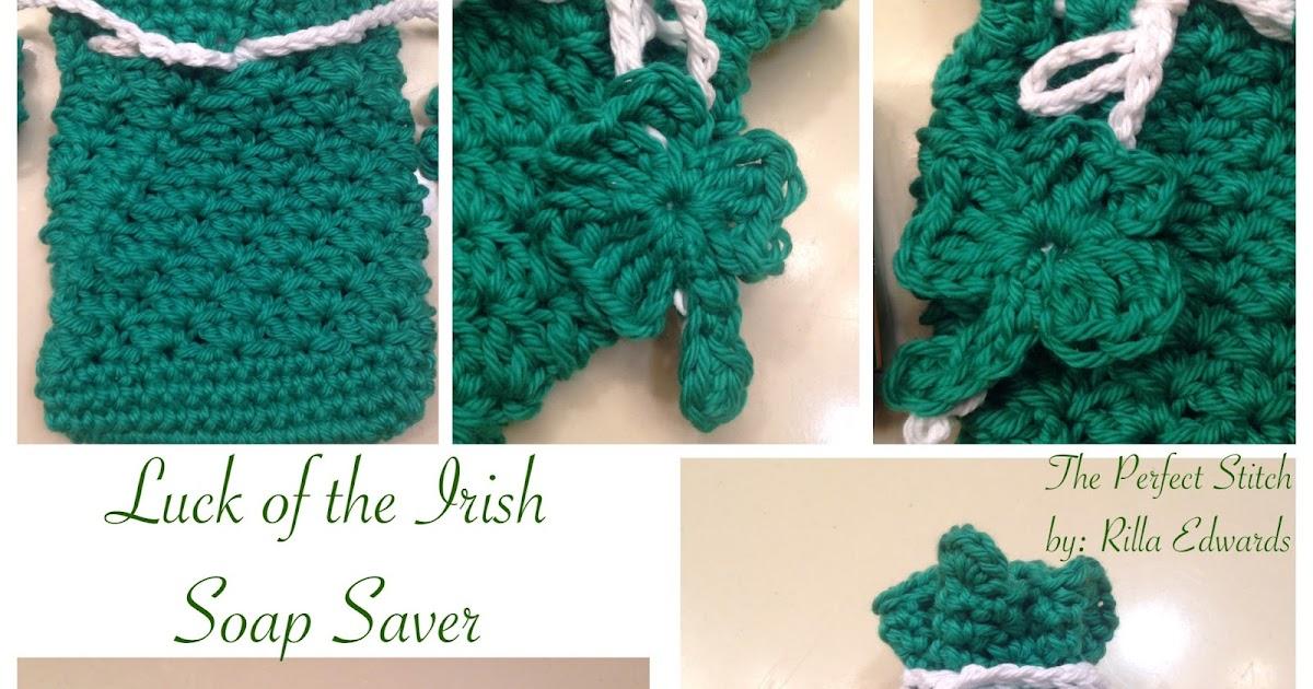 The Perfect Stitch Luck Of The Irish Soap Saver