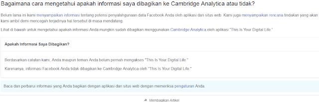 Cara Cek Apakah Data Akun Facebook Anda Bocor Atau Tidak Cek Apakah Data Akun Facebook Anda Bocor Atau Tidak