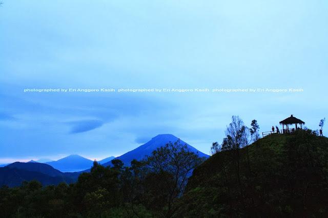 Indahnya view di Bukit Sikunir Dieng