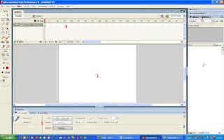 Contoh software macromedia flash