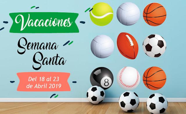 VACACIONES SEMANA SANTA 16 al 23 de Abril 2019