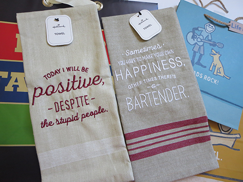 Hallmark Bar Towels for Father's Day, #LoveHallmarkCA, #Review #Giveaway