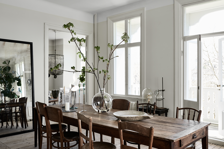 Villa in una ex fabbrica stile liberty shabby chic interiors for Design di casa