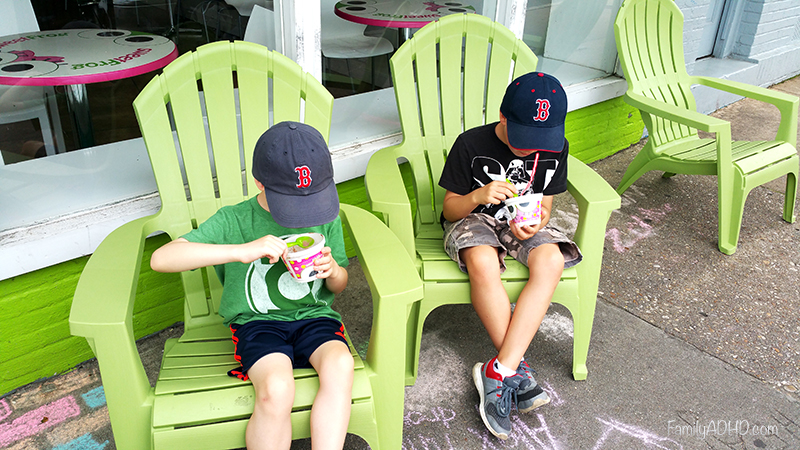 Sweet Frog Review Richmond VA Family Travel Guide