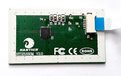 Hantick HTX5330M touchpad