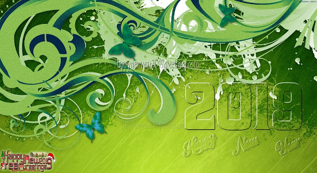 Happy New Year 2019 3D Greetings - New Year 2019 3D Photo Greetings