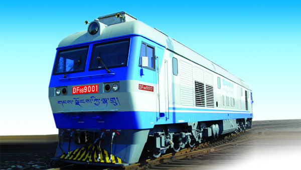 DF8B High-Power Freight Diesel Locomotive