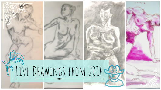 Live Drawings from 2016.