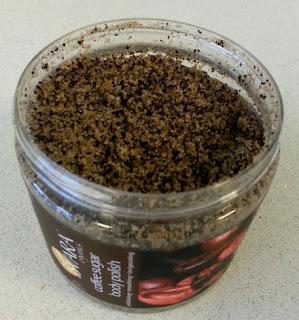 صنفرة القهوة للجسم