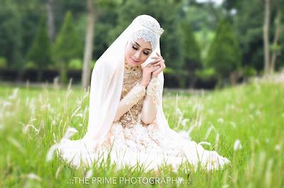 Inspirasi Model Hijab Pengantin Terbaru