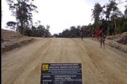 Kementerian PUPR Target 4000 KM Jalan Trans Papua Tembus Akhir 2019