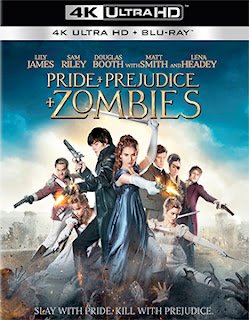 DVD & Blu-ray Release Report, Pride + Prejudice + Zombies, Ralph Tribbey