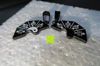 auseinander: UM Schmuck Rostfreier Stahl Puzzle Paare Halskette fur Sie und Ihn Tai Chi Yin Yang Teilt Anhanger