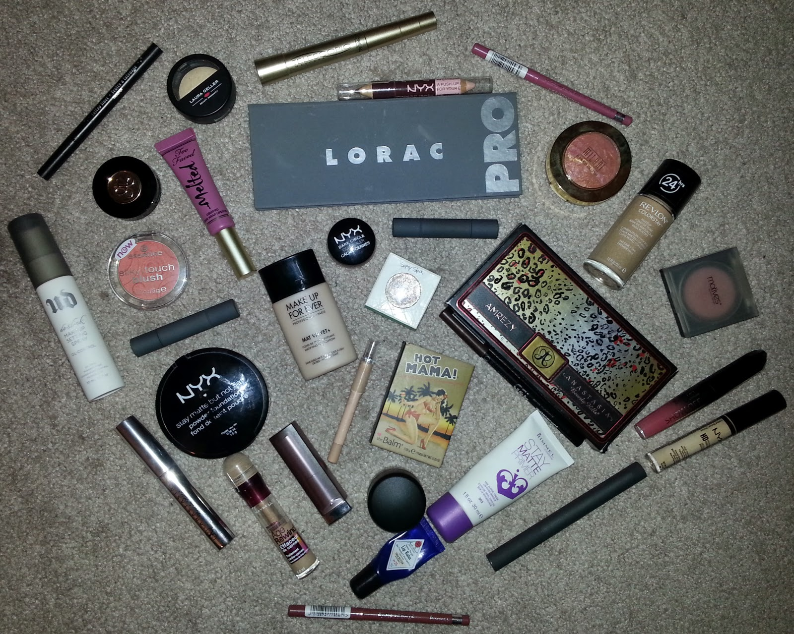 Makeup Favorites 2014