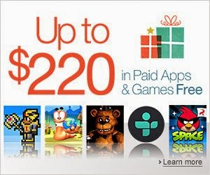 Amazon's Appstore offering $220 worth of 40 PAID apps and games for FREE