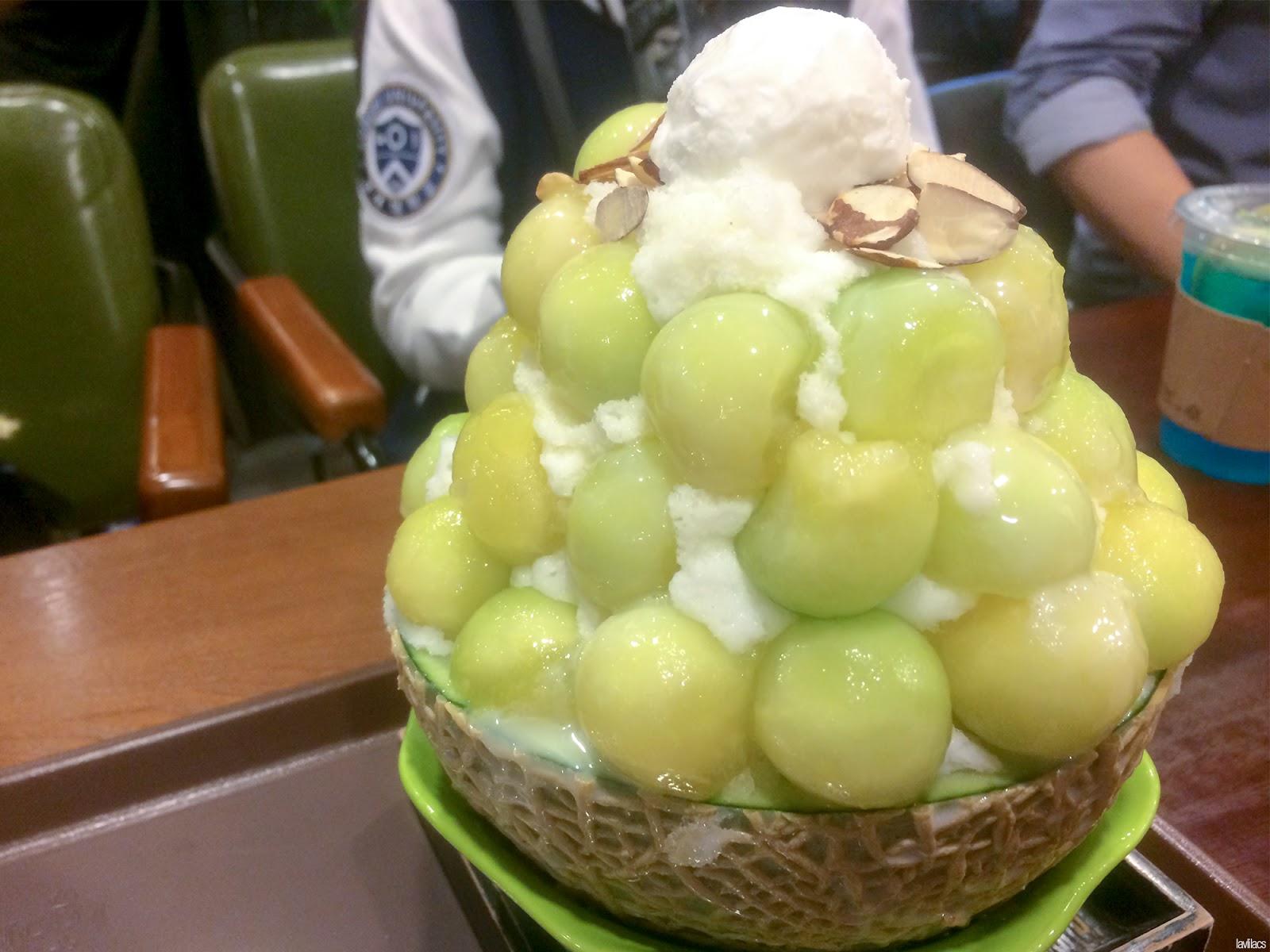 Seoul, Korea - Summer Study Abroad 2014 - Sinchon LGA Cafe menu