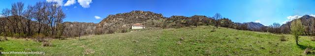 Panorama - Chebren Monastery, Mariovo, Macedonia