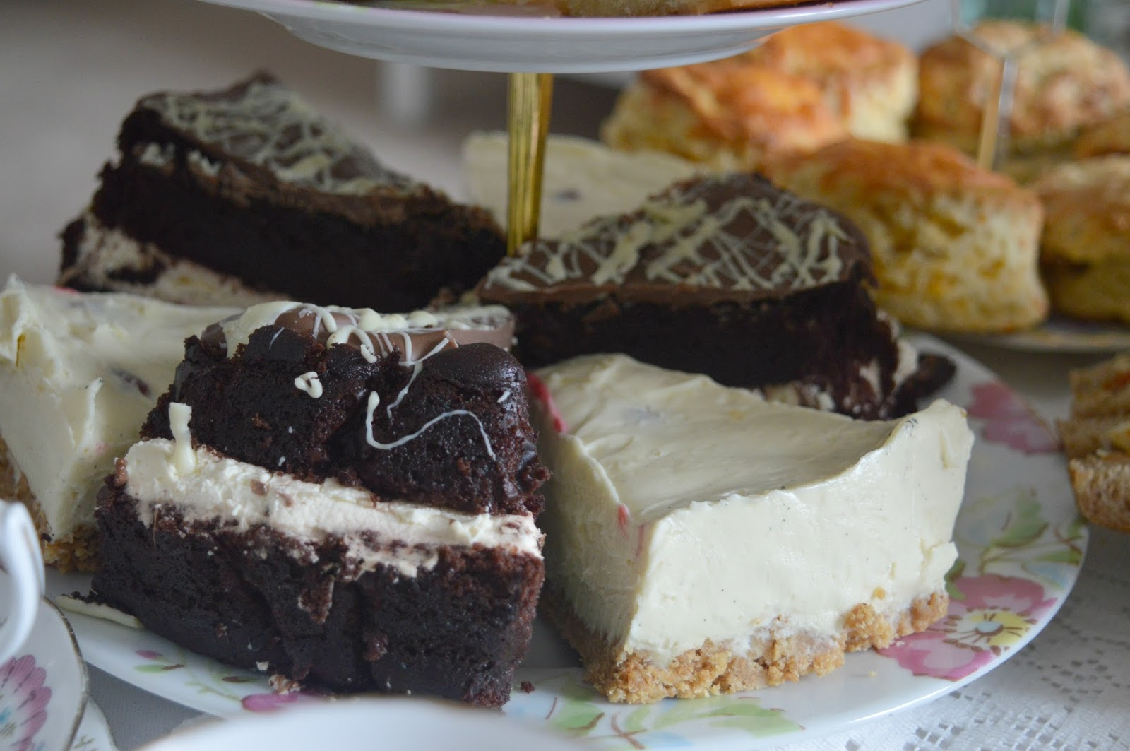 Mrs Dellow's Delights North East Afternoon Tea Delivery Service - Super Squidgy Chocolate Cake