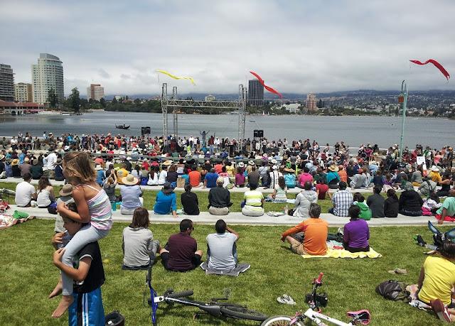 Bairro Lake Marritt em Oakland