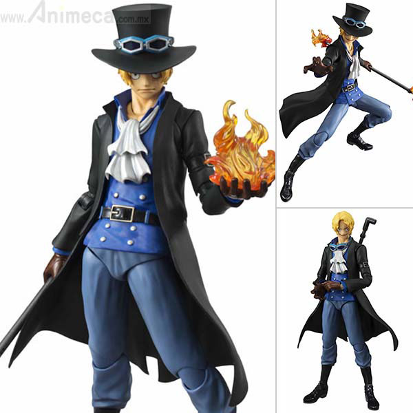 FIGURA SABO Variable Action Heroes ONE PIECE MEGAHOUSE