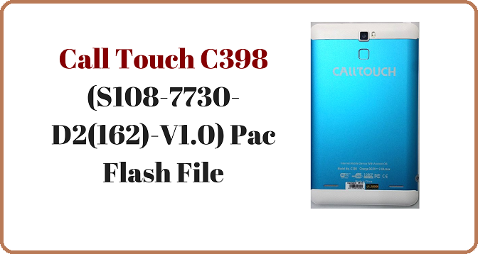 Call Touch C398 By GsmPagla