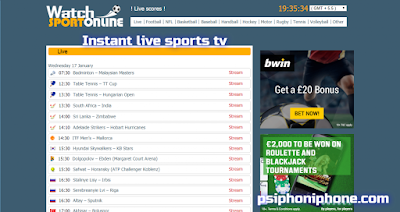 Live Sport Online. Watch Free Streaming Sport Events