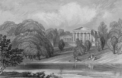 Engraving of The Grange, c.1835