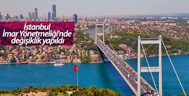 İstanbul İmar Yönetmeliği'nde Değişiklik