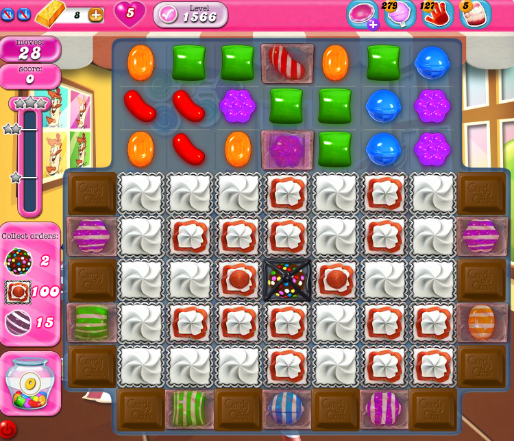 Candy Crush Saga 1566