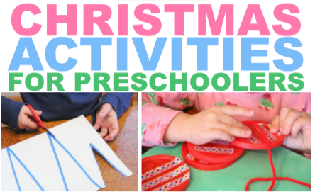 Preschool activities with a Christmas theme
