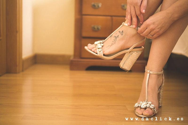 tatuaje en el pie de chica