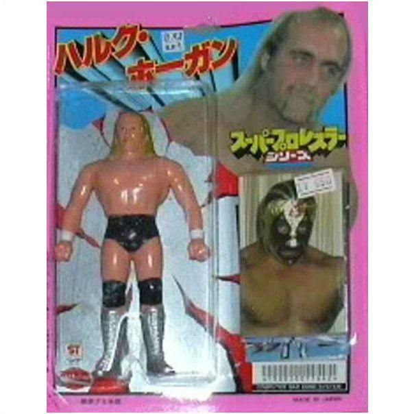 Japanese wrestling action figure of Abdullah the Butcher. StrengthFighter.com