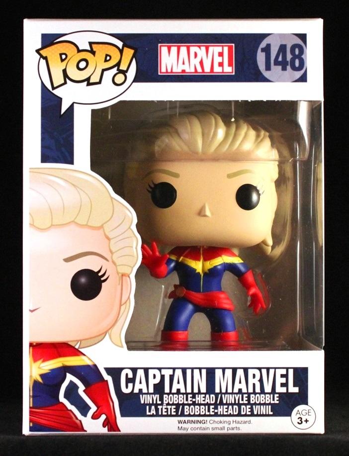 She S Fantastic Funko Pop Marvel Captain Marvel