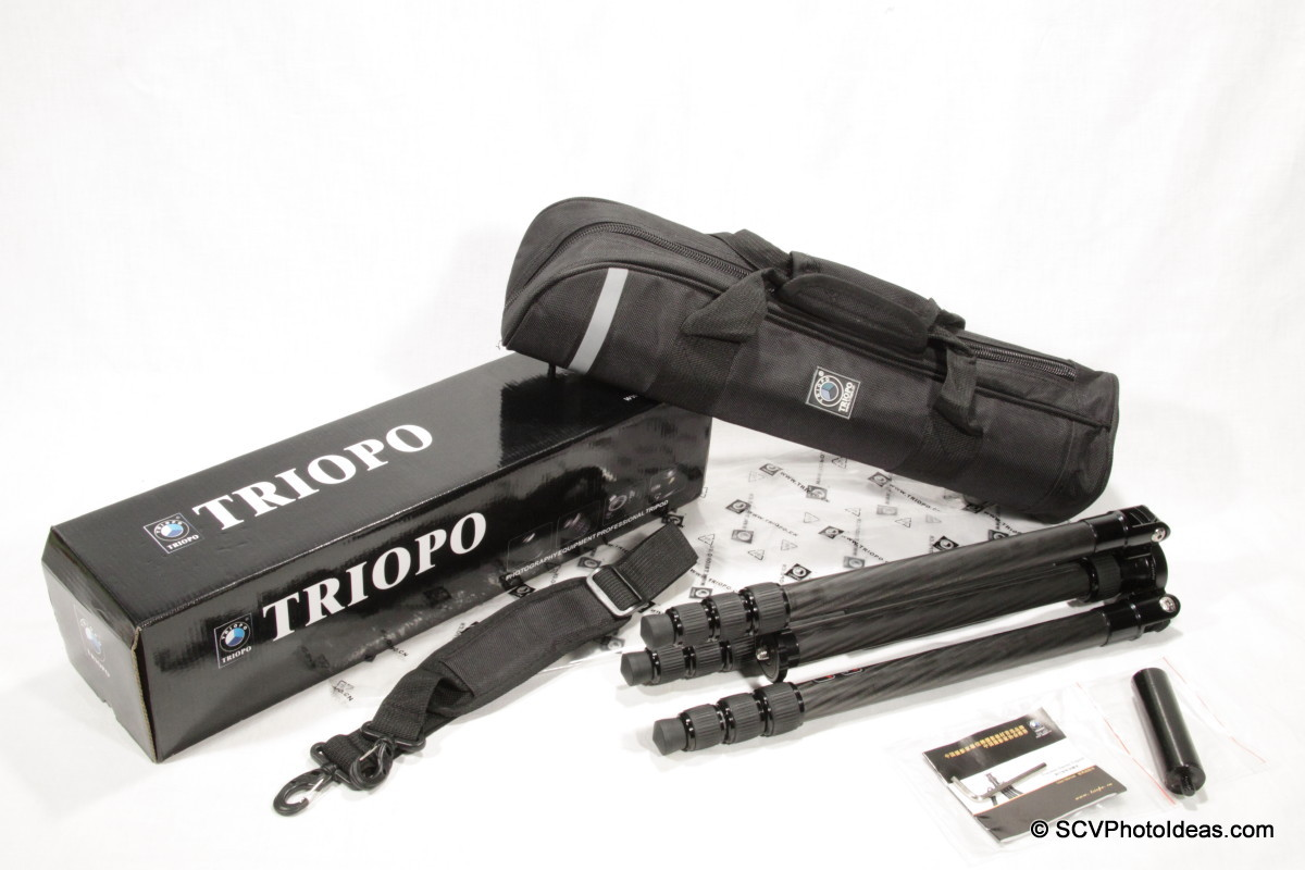 Triopo GT-3228X8C box and contents layout