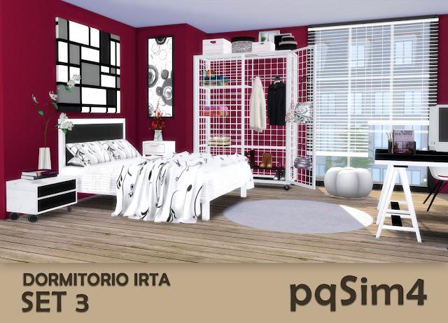 Set nº 3 del dormitorio Irta 8