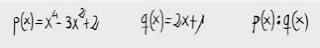 42.División de polinomios. (Ruffini)