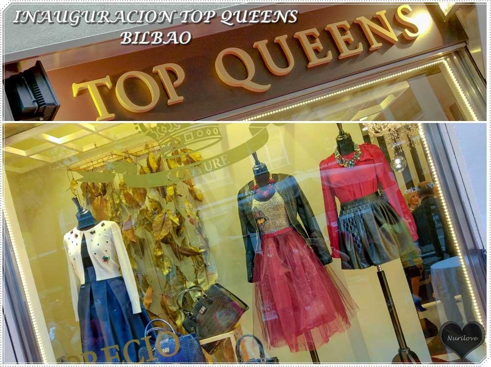 Inauguración de Top Queens en Bilbao. Unico precio en todas las prendas