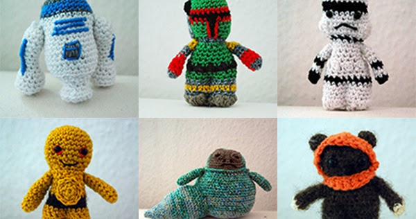 Fickle Sense Im Back With Star Wars Crochet Characters