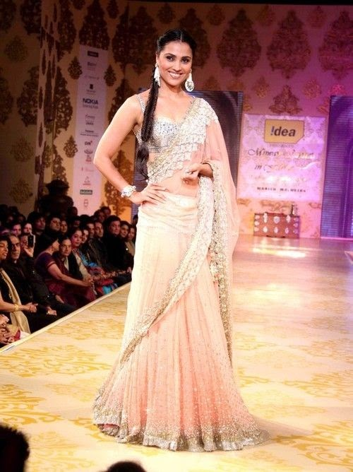 Indian bridal Lehenga, wedding reception dress.